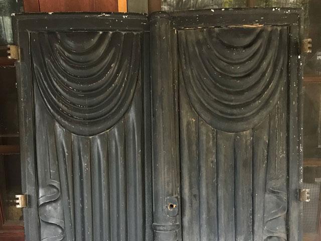 Victorian hearse doors for sale