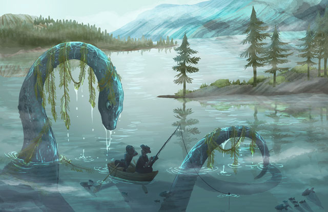 Lake Monster by Cait May