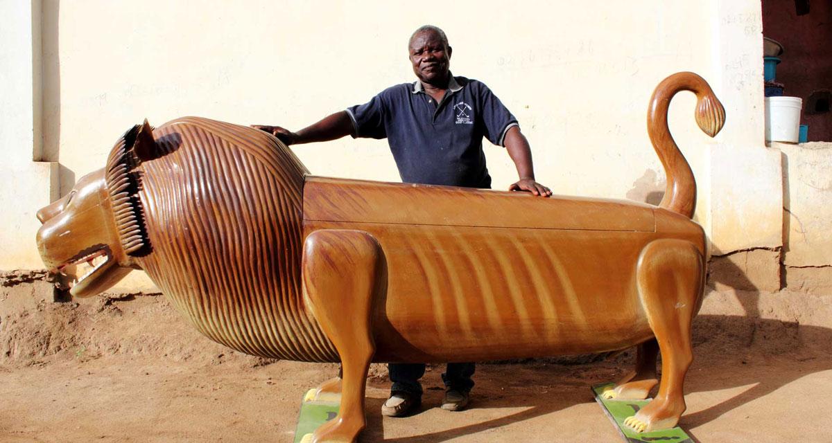 Ghana fantasy coffin