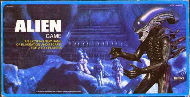 Alien board game