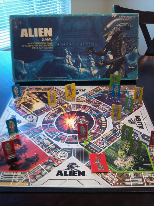 Alien movie vintage game