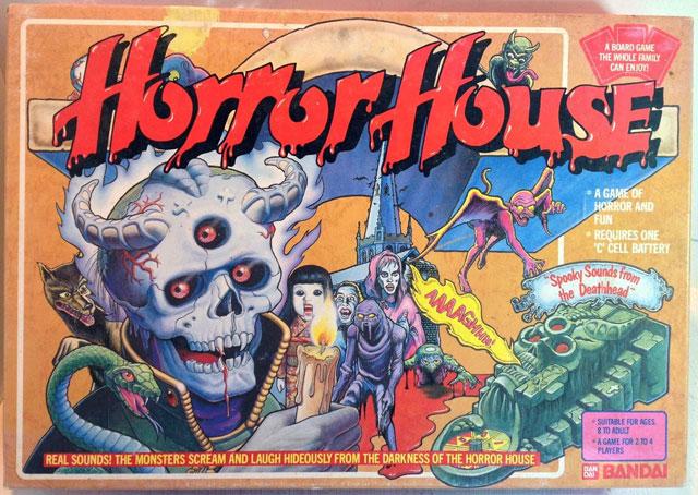 Horror House board game