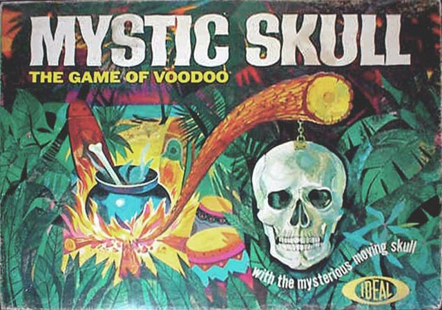 Mystic Skull voodoo board game