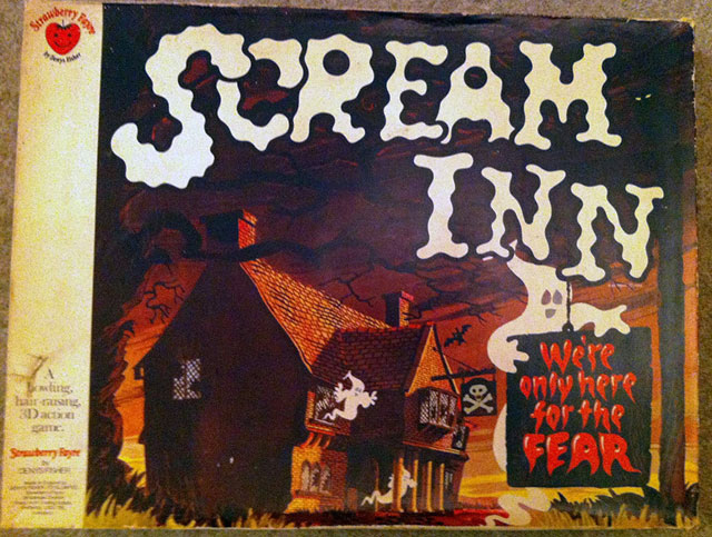 Scream Inn board game