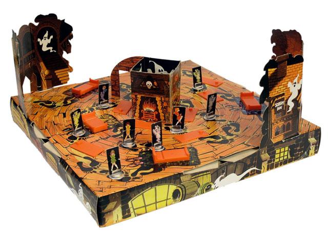 Scream Inn spooky vintage game