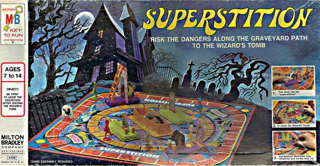 Superstition board game