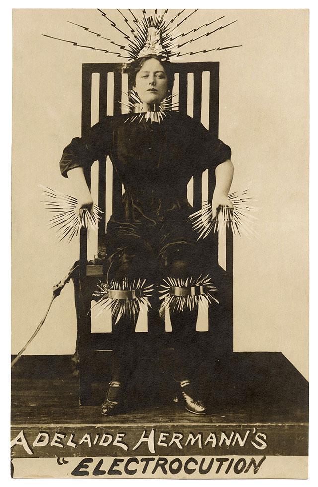 Adelaide Herrmann's Electrocution Illusion