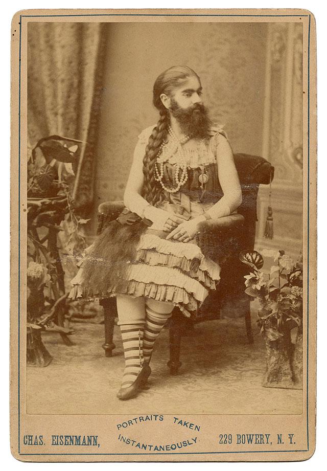 Bearded Lady Annie Jones