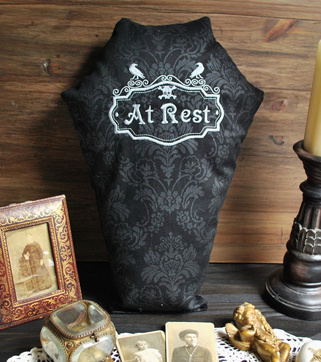 At Rest coffin pillow