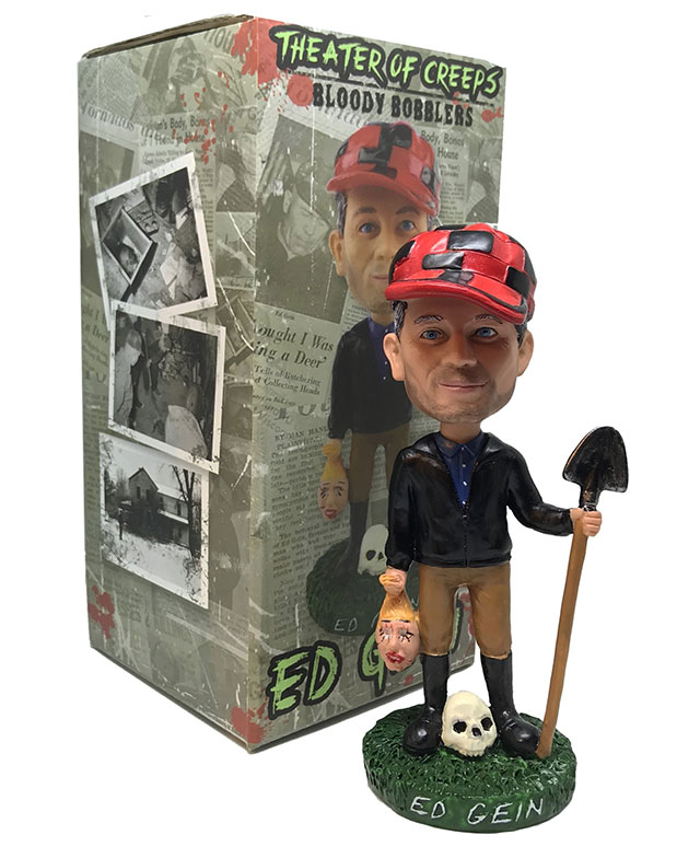 Ed Gein bobble head