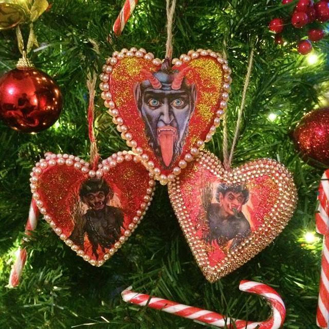 Krampus ornaments