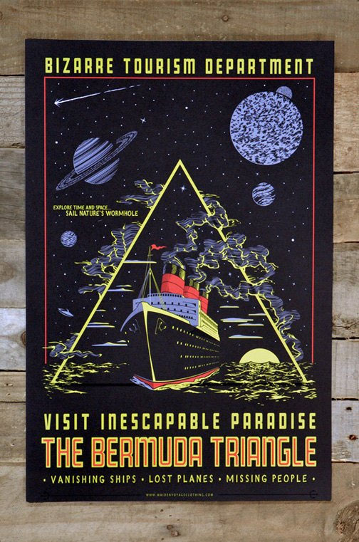 Bermuda Triangle poster from Maiden Voyage