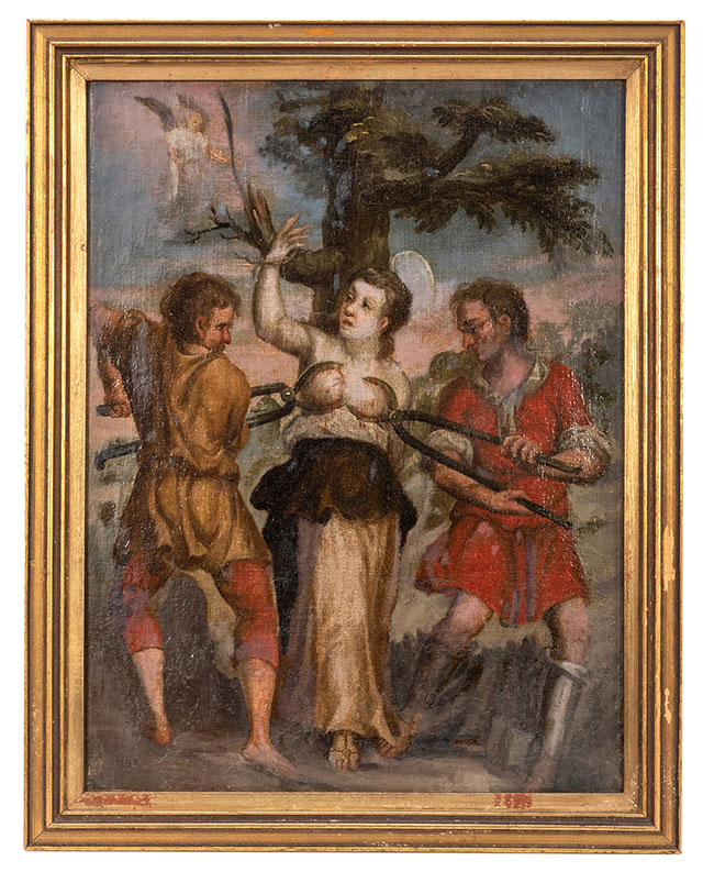 Martyrdom of Saint Agatha of Sicily