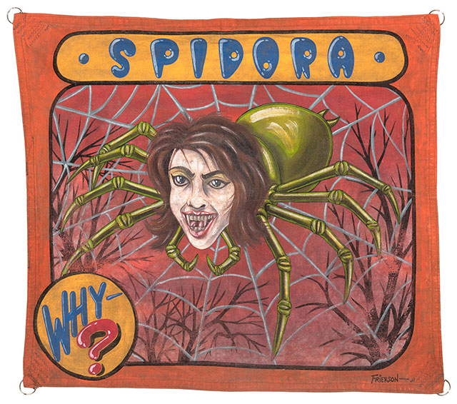 Spidora sideshow banner by Mark Frierson