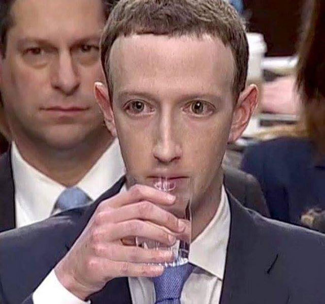 Mark Zuckerberg lizard person