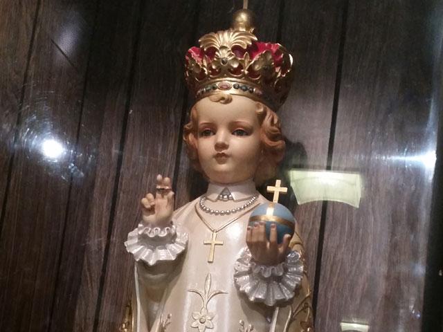 Holy hand grenade at Holy Hill basilica