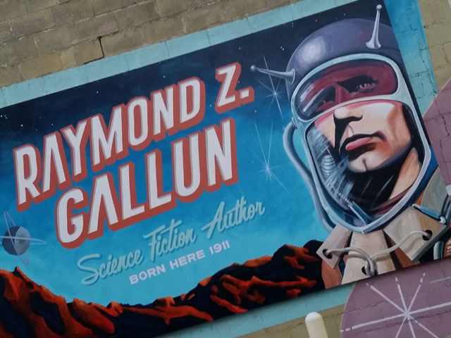 Science fiction author Raymond Z. Gallun