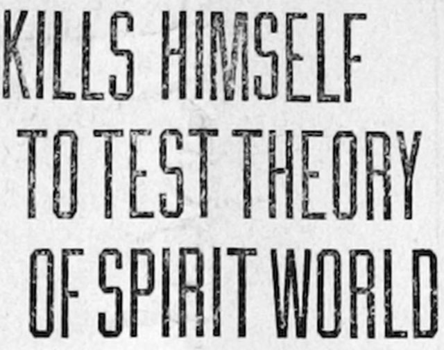 Thomas Bradford experiment