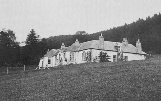 Boleskine, Aleister Crowley's house, in 1912