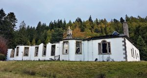 Ruins of Aleister Crowley's Boleskine House