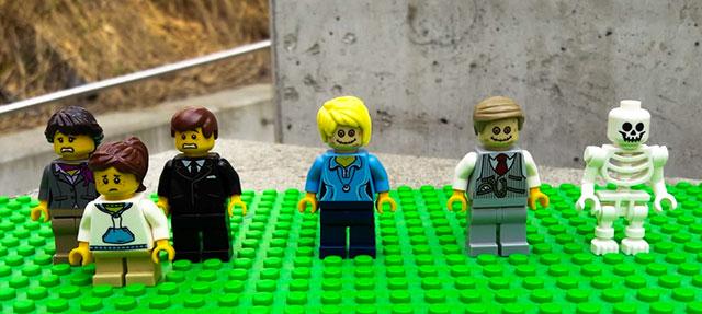 Lego bereaved family