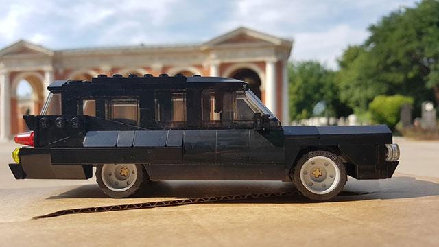 Lego hearse