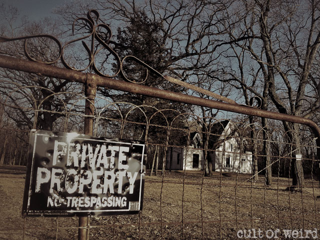 The Witherell House is private property