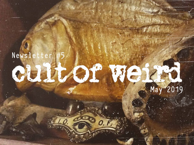 Cult of Weird oddities collection