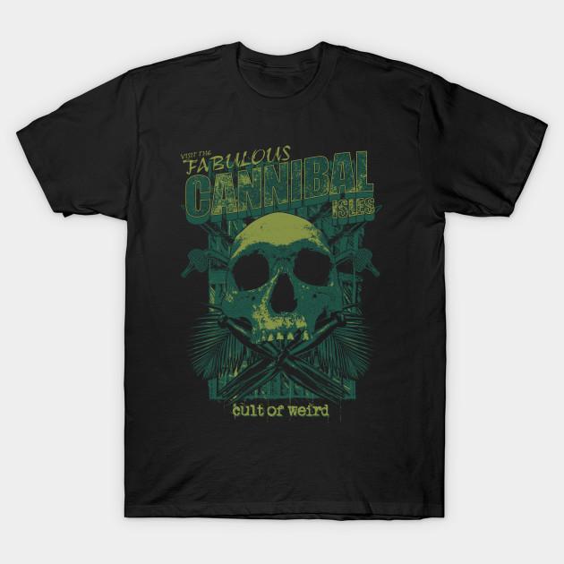 Cult of Weird Cannibal Isles t-shirt