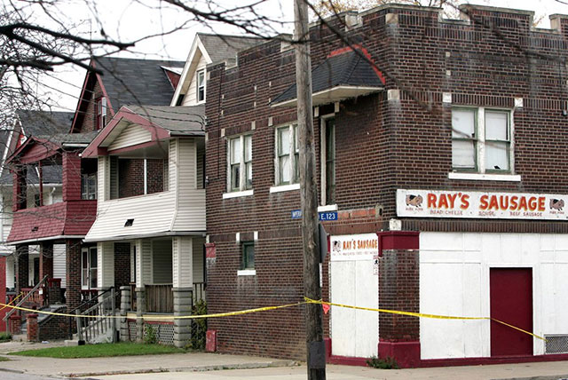 Ray's Sausage and the home of the Cleveland Strangler