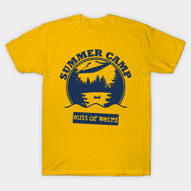 Cult of Weird UFO summer camp t-shirt