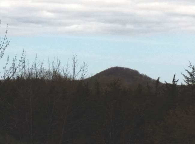 Is there a UFO base inside Dundee Mountain?