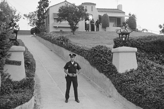 The LaBianca murder house 1969