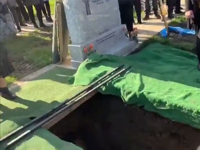 Video from the funeral of Shay Bradley