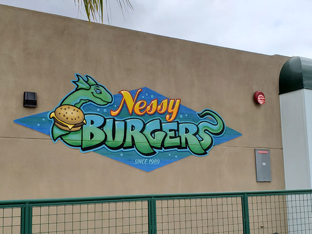 Nessy Burger in Fallbrook, California
