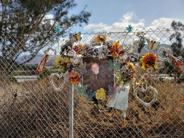 Fallbrook roadside memorial