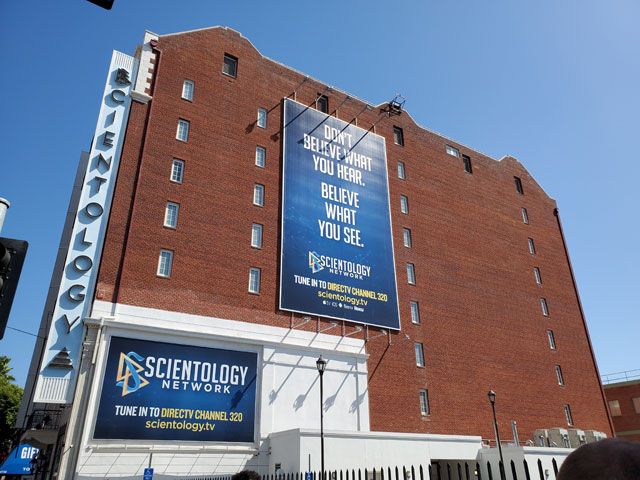Inside the Scientology Information Center on Hollywood Boulevard