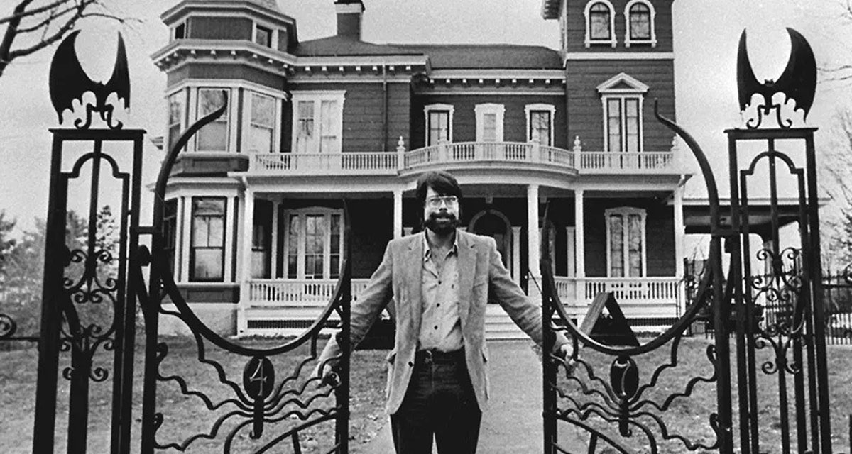 Stephen King's house in Bangor, Maine, Nov. 1982