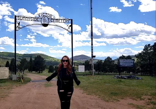 Sunnyside Cemetery in Victor, Colorado