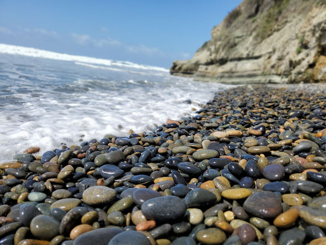 Swami's Beach in Encinitas