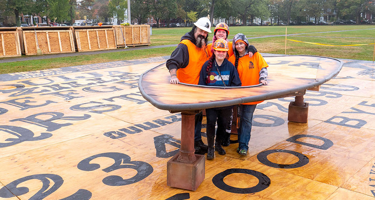 Ouijazilla, world's largest Ouija board