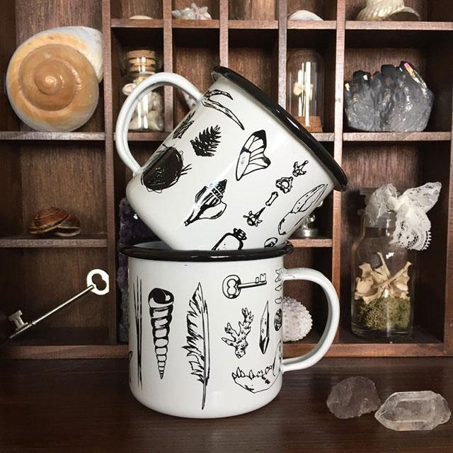 Cabinet of curiosities mug