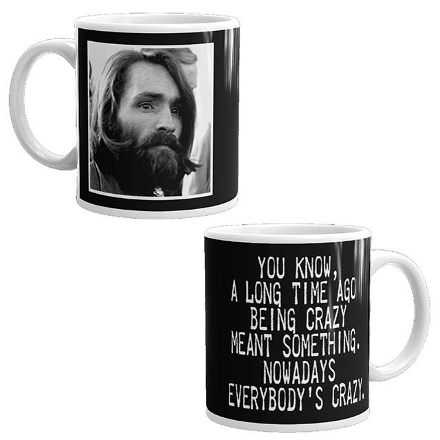 Charles Manson mug