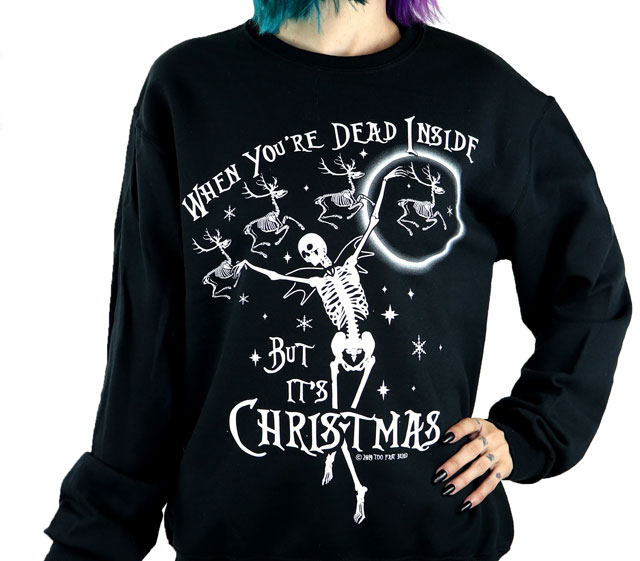 When you're dead inside but it's Christmas sweater