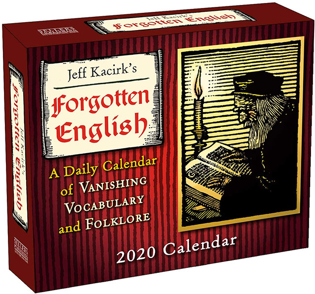 Forgotten english and folklore 2020 calendar