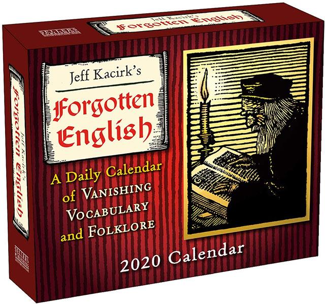 Forgotten english and folklore 2020 calendar