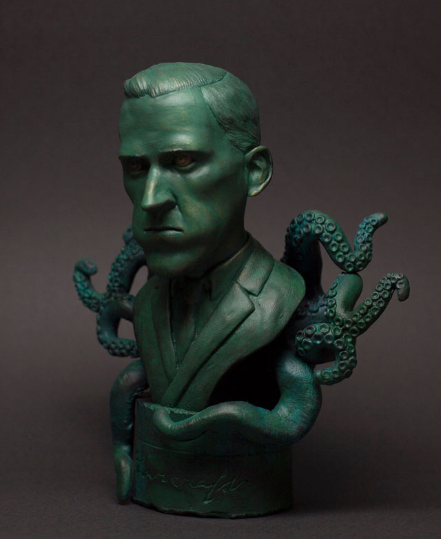 Bust of H.P. Lovecraft