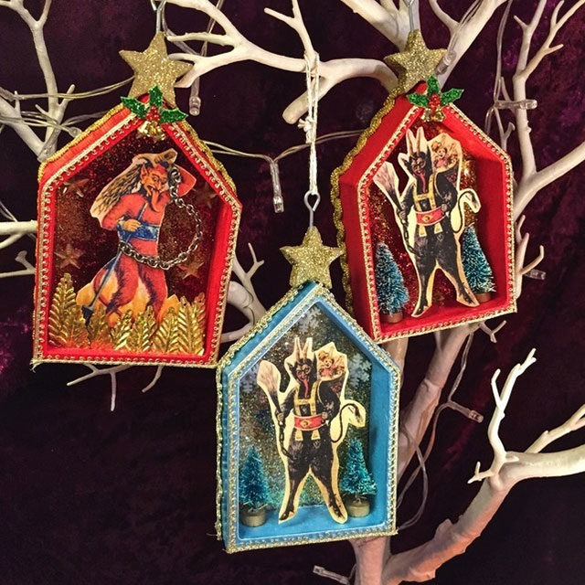 Krampus Christman ornaments
