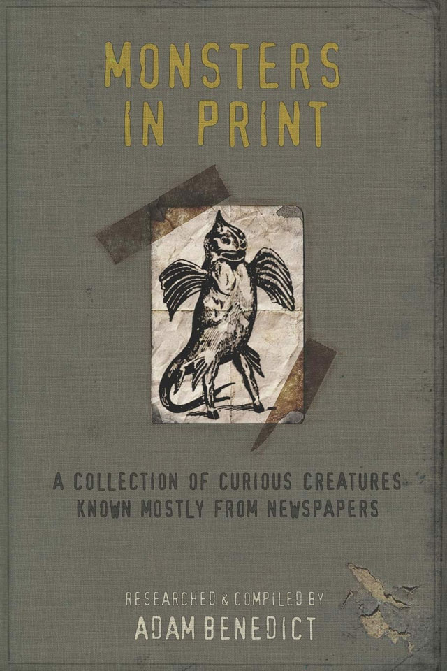 Monsters in Print book