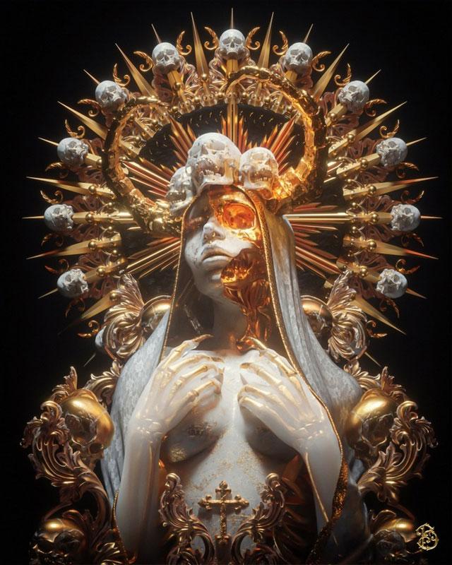 Necro Maria by Billelis